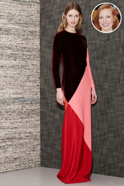 01-Jessica-Chastain-oscars-red-carpet-runway-h724