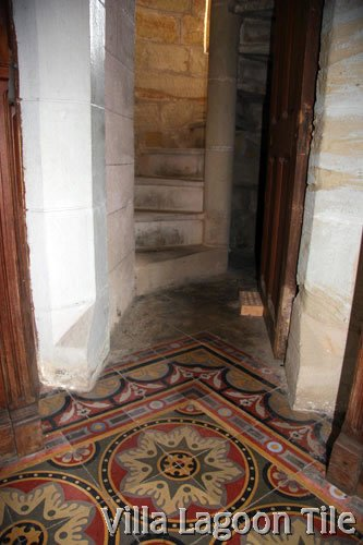 Egyptian-Tile-Up-Stairs