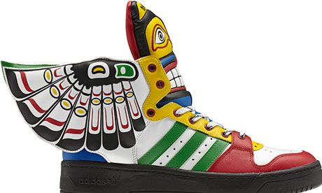 Jeremy Scott Adidas trainers