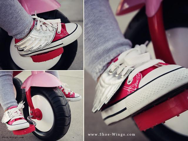 Shoe-wings.com silver biker wm