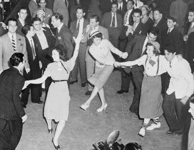 1940s Dance Party vintage photo