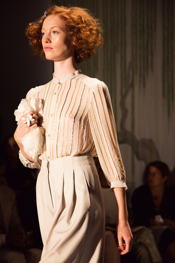 Jenny Packham spring summer 2014 collection shown at New York Fashion Week