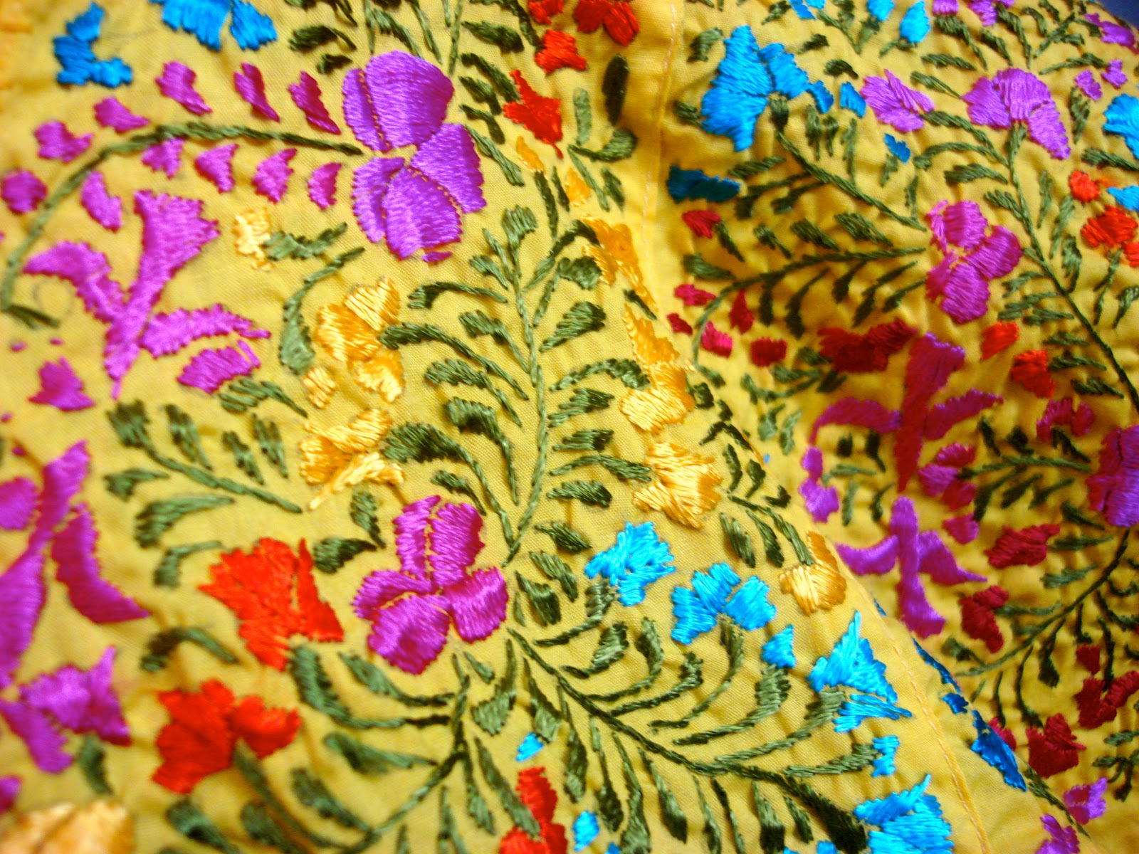 Image is loading WOMANS-PEASANT-EMBROIDERED-MEXICAN -BLOUSES-ASSORTED-COLORS-AND-
