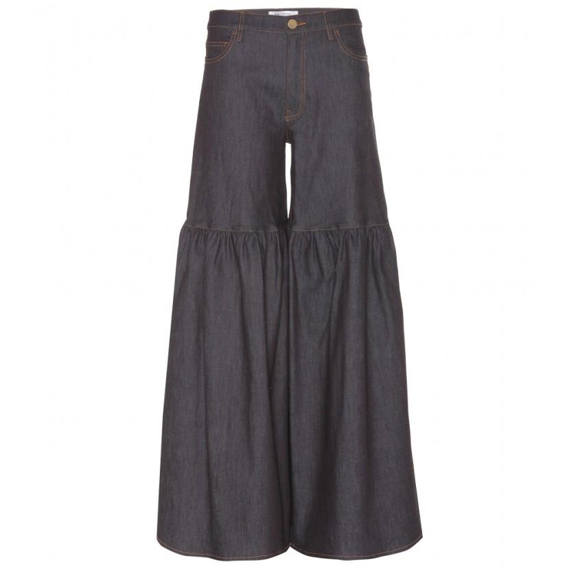 P00096150-Flared-denim-jeans--STANDARD