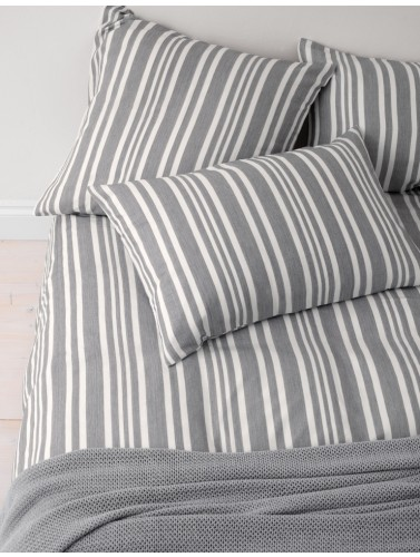 denim_stripe_charcoal_bedding