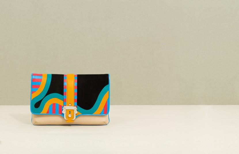 Paula-Cademartori_Fall-Winter-2014-15_Sylvie-Clutch-Bag_Multicolour_Nappa_Suede_Geometric-Design_detail-1280x822