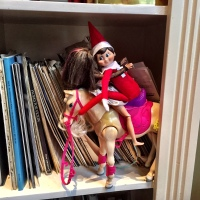 Spotted! The Elf on the Shelf...