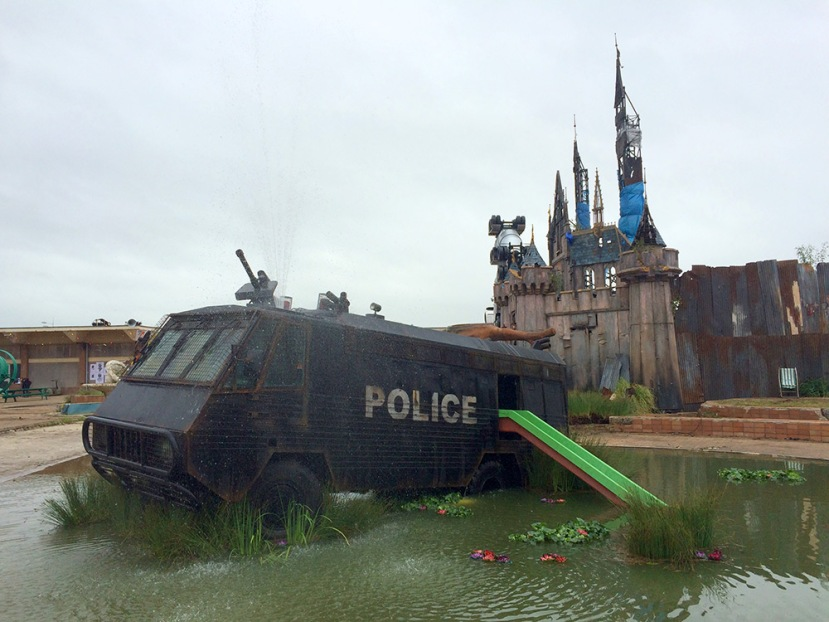 Street-Art-by-Banksy-and-other-artists-in-London-England-Dismaland-1