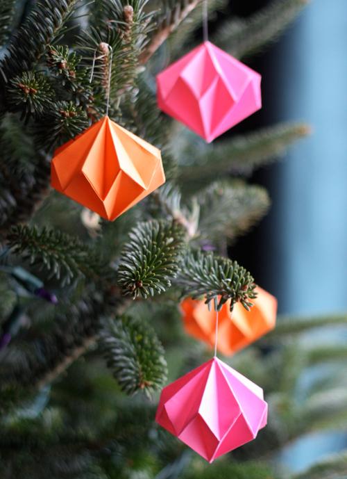 origami-diamond-ornaments
