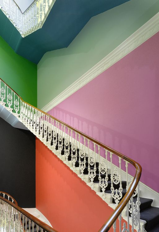 Main staircase to Goethe Institute Princes Gate | Architect: Sir Charles James Freake |