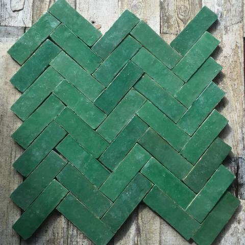 Green Tiles Maison Bentley Style